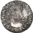 Photo numismatique  VENTE 6 oct 2017 - Coll Dr Y. Goalard et divers BARONNIALES Duché de LORRAINE CHARLES III (1545-1608) 371- Gros ou 2 sols (?) en argent.