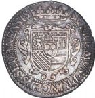 Photo numismatique  VENTE 6 oct 2017 - Coll Dr Y. Goalard et divers BARONNIALES Duché de BOUILLON et Seigneurie de SEDAN HENRI de la TOUR d'Auvergne (1594-1623) 372- Demi-écu d'argent de XV sols, 1614.