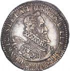 Photo numismatique  VENTE 6 oct 2017 - Coll Dr Y. Goalard et divers BARONNIALES Duché de BOUILLON et Seigneurie de SEDAN HENRI de la TOUR d'Auvergne (1594-1623) 373- Grand écu d'argent de XLV sols, 1615.