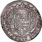 Photo numismatique  ARCHIVES VENTE 2017-6 oct - Coll Dr Y. Goalard BARONNIALES Duché de BOUILLON et Seigneurie de SEDAN HENRI de la TOUR d'Auvergne (1594-1623) 373- Grand écu d'argent de XLV sols, 1615.