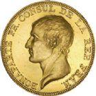 Photo numismatique  VENTE 6 oct 2017 - Coll Dr Y. Goalard et divers MODERNES FRANÇAISES BONAPARTE, 1er consul (24 décembre 1799-18 mai 1804)  375- Médaille de Droz «Le retour d'Astrée», 1802.