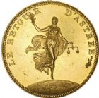 Photo numismatique  ARCHIVES VENTE 2017-6 oct - Coll Dr Y. Goalard MODERNES FRANÇAISES BONAPARTE, 1er consul (24 décembre 1799-18 mai 1804)  375- Médaille de Droz «Le retour d'Astrée», 1802.