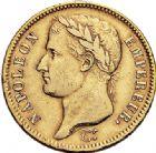 Photo numismatique  VENTE 6 oct 2017 - Coll Dr Y. Goalard et divers MODERNES FRANÇAISES NAPOLEON Ier, empereur (18 mai 1804- 6 avril 1814)  376- 40 francs or, Turin 1808 U.