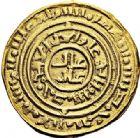 Photo numismatique  ARCHIVES VENTE 2017-6 oct - Coll Dr Y. Goalard MONNAIES DU MONDE ORIENT LATIN Rois de JÉRUSALEM (1148-1187) 385- Besant saracénat, (1148-1187), Acre.