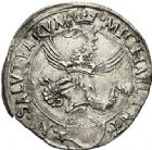 Photo numismatique  ARCHIVES VENTE 2017-6 oct - Coll Dr Y. Goalard MONNAIES DU MONDE ITALIE CARMAGNOLE. Michele Antoni (1504-1528) 387- Cornato.