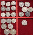 Photo numismatique  VENTE 6 oct 2017 - Coll Dr Y. Goalard et divers LOTS DE MONNAIES EMPIRE ROMAIN  403- Lot de 12 deniers et 11 antoniniens.