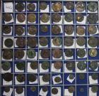 Photo numismatique  VENTE 6 oct 2017 - Coll Dr Y. Goalard et divers LOTS DE MONNAIES EMPIRE ROMAIN  404- Grand lot de 119 monnaies romaines en bronze.