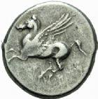 Photo numismatique  MONNAIES GRÈCE ANTIQUE GRECE CENTRALE ACARNANIE. Argos Amphilocum (300-250) Statère.