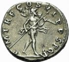 Photo numismatique  MONNAIES EMPIRE ROMAIN TRAJAN (98-117)  Denier.
