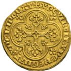 Photo numismatique  MONNAIES ROYALES FRANCAISES PHILIPPE IV LE BEL (5 octobre 1285-30 novembre 1314)  Agnel d'or (26 janvier 1311).