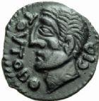 GAULE - CELTESCARNUTES (région de Chartres)Bronze de Toutobocio.