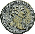 Photo numismatique  ARCHIVES VENTE 9 mars 2018 - Coll. Dr P. Corre EMPIRE ROMAIN TRAJAN (98-117)  5- Sesterce, Rome, 108-111.