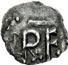 Photo numismatique  ARCHIVES VENTE 9 mars 2018 - Coll. Dr P. Corre CAROLINGIENS PEPIN LE BREF (751- sacré le 28 juillet 754 - 24 septembre 768)  26- Denier, Saint-Etienne, Bourges.