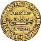 Photo numismatique  VENTE 9 mars 2018 - Coll. Dr P. Corre et divers ROYALES FRANCAISES LOUIS IX, Saint Louis (3 novembre 1226-24 août 1270)  27- Royal d'or, pièce fausse autrefois attribuée à Louis IX (Saint Louis).