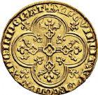 Photo numismatique  ARCHIVES VENTE 9 mars 2018 - Coll. Dr P. Corre ROYALES FRANCAISES PHILIPPE IV LE BEL (5 octobre 1285-30 novembre 1314)  29- Agnel d'or (8 décembre 1316).