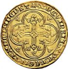 Photo numismatique  ARCHIVES VENTE 9 mars 2018 - Coll. Dr P. Corre ROYALES FRANCAISES PHILIPPE VI DE VALOIS(1er avril 1328-22 août 1350)  32- Écu d'or à la chaise de la 1ère émission (1er janvier 1337).