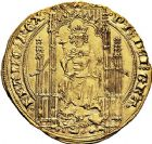 Photo numismatique  VENTE 9 mars 2018 - Coll. Dr P. Corre et divers ROYALES FRANCAISES PHILIPPE VI DE VALOIS(1er avril 1328-22 août 1350)  33- Lion d'or (31 octobre 1338).
