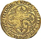 Photo numismatique  ARCHIVES VENTE 9 mars 2018 - Coll. Dr P. Corre ROYALES FRANCAISES PHILIPPE VI DE VALOIS(1er avril 1328-22 août 1350)  33- Lion d'or (31 octobre 1338).