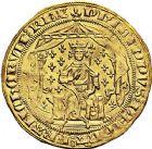 Photo numismatique  VENTE 9 mars 2018 - Coll. Dr P. Corre et divers ROYALES FRANCAISES PHILIPPE VI DE VALOIS(1er avril 1328-22 août 1350)  34- Pavillon d'or (8 juin 1339).