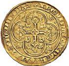 Photo numismatique  VENTE 9 mars 2018 - Coll. Dr P. Corre et divers ROYALES FRANCAISES JEAN II LE BON (22 août 1350-18 avril 1364)  36- Écu d'or à la chaise, 4ème émission (22 septembre 1351).