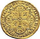 Photo numismatique  ARCHIVES VENTE 9 mars 2018 - Coll. Dr P. Corre ROYALES FRANCAISES JEAN II LE BON (22 août 1350-18 avril 1364)  37- Mouton d'or (17 janvier 1355).