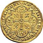 Photo numismatique  VENTE 9 mars 2018 - Coll. Dr P. Corre et divers ROYALES FRANCAISES JEAN II LE BON (22 août 1350-18 avril 1364)  37- Mouton d'or (17 janvier 1355).