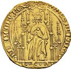 Photo numismatique  ARCHIVES VENTE 9 mars 2018 - Coll. Dr P. Corre ROYALES FRANCAISES JEAN II LE BON (22 août 1350-18 avril 1364)  38- Royal d'or, 2ème émission (15 avril 1359).