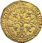 Photo numismatique  VENTE 9 mars 2018 - Coll. Dr P. Corre et divers ROYALES FRANCAISES JEAN II LE BON (22 août 1350-18 avril 1364)  38- Royal d'or, 2ème émission (15 avril 1359).