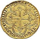 Photo numismatique  ARCHIVES VENTE 9 mars 2018 - Coll. Dr P. Corre ROYALES FRANCAISES JEAN II LE BON (22 août 1350-18 avril 1364)  39- Franc d'or à cheval (5 décembre 1360).