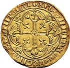 Photo numismatique  ARCHIVES VENTE 9 mars 2018 - Coll. Dr P. Corre ROYALES FRANCAISES CHARLES VII (30 octobre 1422-22 juillet 1461)  46- Royal d'or de la 1ère émission (9 octobre 1429), Montélimar.
