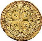 Photo numismatique  VENTE 9 mars 2018 - Coll. Dr P. Corre et divers ROYALES FRANCAISES CHARLES VII (30 octobre 1422-22 juillet 1461)  46- Royal d'or de la 1ère émission (9 octobre 1429), Montélimar.