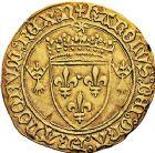 Photo numismatique  ARCHIVES VENTE 9 mars 2018 - Coll. Dr P. Corre ROYALES FRANCAISES CHARLES VIII (20 août 1483-7 avril 1498)  50- Écu d'or au soleil de Bretagne, (à partir du 6 avril 1491), Nantes.