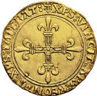 Photo numismatique  VENTE 9 mars 2018 - Coll. Dr P. Corre et divers ROYALES FRANCAISES LOUIS XII (8 avril 1498-31 décembre 1514)  51- Écu d'or au soleil (25 avril 1498), Paris.