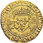 Photo numismatique  ARCHIVES VENTE 9 mars 2018 - Coll. Dr P. Corre ROYALES FRANCAISES LOUIS XII (8 avril 1498-31 décembre 1514)  53- Écu d'or au porc-épic (19 novembre 1507), Amiens.