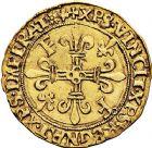 Photo numismatique  ARCHIVES VENTE 9 mars 2018 - Coll. Dr P. Corre ROYALES FRANCAISES FRANCOIS I (1er janvier 1515–31 mars 1547)  54- Écu d'or au soleil, 5ème type, 3ème émission (21 juillet 1519), Lyon.