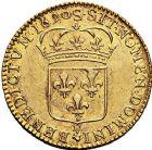 Photo numismatique  VENTE 9 mars 2018 - Coll. Dr P. Corre et divers ROYALES FRANCAISES LOUIS XIV (14 mai 1643-1er septembre 1715)  61- Louis d'or à l'écu, Reims 1690.