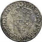 Photo numismatique  ARCHIVES VENTE 9 mars 2018 - Coll. Dr P. Corre ROYALES FRANCAISES LOUIS XIV (14 mai 1643-1er septembre 1715)  65- Écu à la mèche longue, Montpellier 1648.