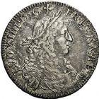 Photo numismatique  ARCHIVES VENTE 9 mars 2018 - Coll. Dr P. Corre ROYALES FRANCAISES LOUIS XIV (14 mai 1643-1er septembre 1715)  68- Écu de Béarn au buste juvénile, Pau 1673.