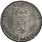 Photo numismatique  ARCHIVES VENTE 9 mars 2018 - Coll. Dr P. Corre ROYALES FRANCAISES LOUIS XIV (14 mai 1643-1er septembre 1715)  71- Écu à la perruque avec buste drapé à l'antique (faussement appelé «écu blanc»), Paris, 1686.