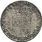 Photo numismatique  ARCHIVES VENTE 9 mars 2018 - Coll. Dr P. Corre ROYALES FRANCAISES LOUIS XIV (14 mai 1643-1er septembre 1715)  72- Écu de Flandre (dit «carambole»), Lille, 1686.