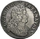Photo numismatique  VENTE 9 mars 2018 - Coll. Dr P. Corre et divers ROYALES FRANCAISES LOUIS XIV (14 mai 1643-1er septembre 1715)  76- Écu aux huit L du 2ème type, Reims 1705.