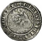 Photo numismatique  ARCHIVES VENTE 9 mars 2018 - Coll. Dr P. Corre BARONNIALES Duché de BRETAGNE JEAN IV (1345-1399) 98- Gros au lion à la targe.