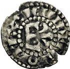 Photo numismatique  ARCHIVES VENTE 9 mars 2018 - Coll. Dr P. Corre BARONNIALES Comté du MANS CHARLES 1er ou II d'ANJOU (1246-1285-1290) 105- Denier.