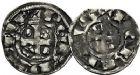 Photo numismatique  ARCHIVES VENTE 9 mars 2018 - Coll. Dr P. Corre BARONNIALES Seigneurie de CELLES ROBERT Ier (1178-1189) 119- Deniers (2) imitant ceux de Saint-Aignan.
