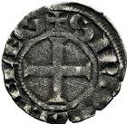 Photo numismatique  ARCHIVES VENTE 9 mars 2018 - Coll. Dr P. Corre BARONNIALES Seigneurie de CELLES ROBERT II (1215/1218-1239) 120- Denier.