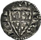 Photo numismatique  ARCHIVES VENTE 9 mars 2018 - Coll. Dr P. Corre BARONNIALES Seigneurie de VIERZON BLANCHE de JOIGNY, vers (1250-1260) 121- Denier.