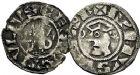 Photo numismatique  ARCHIVES VENTE 9 mars 2018 - Coll. Dr P. Corre BARONNIALES Comté de SANCERRE ETIENNE et Anonyme 122- Lot de 2 deniers.