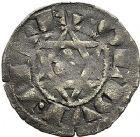 Photo numismatique  ARCHIVES VENTE 9 mars 2018 - Coll. Dr P. Corre BARONNIALES Seigneurie d'ISSOUDUN GUILLAUME de CHAUVIGNY (1212-1234) 124- Denier.