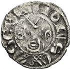 Photo numismatique  ARCHIVES VENTE 9 mars 2018 - Coll. Dr P. Corre BARONNIALES Prieuré de SOUVIGNY Les Prieurs seuls (1249-1262) 126- Denier.