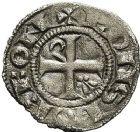 Photo numismatique  ARCHIVES VENTE 9 mars 2018 - Coll. Dr P. Corre BARONNIALES Seigneurie de BOURBON ROBERT de Clermont (1283-1310) 127- Obole.